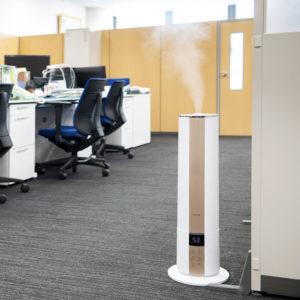 広いオフィスでの除菌消臭、衛生対策に
