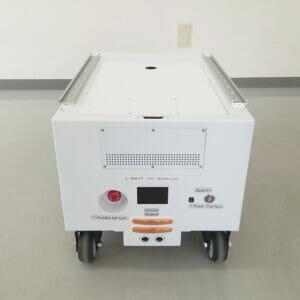 無人航行除菌合体ロボ フルテラG